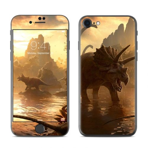 Cretaceous Sunset iPhone 7 Skin