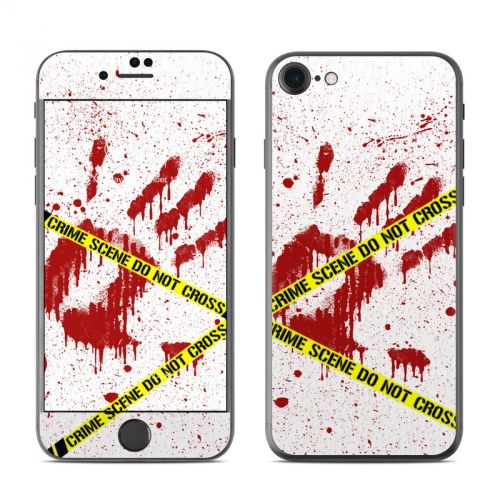 Crime Scene Revisited iPhone 7 Skin