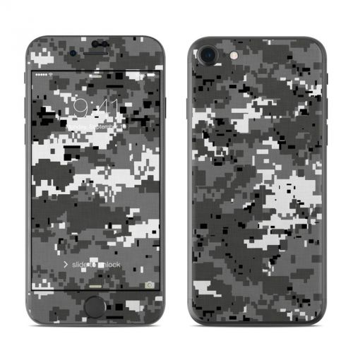 Digital Urban Camo iPhone 7 Skin