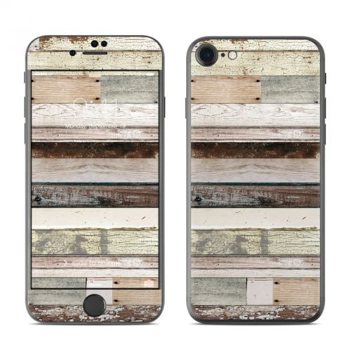 Eclectic Wood iPhone 7 Skin