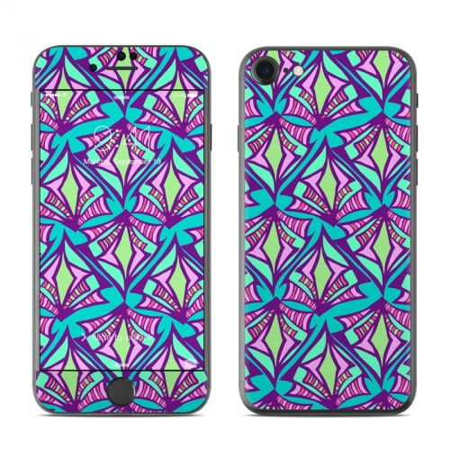 Fly Away Teal iPhone 7 Skin