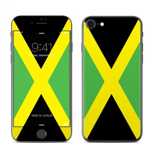 Jamaican Flag iPhone 7 Skin