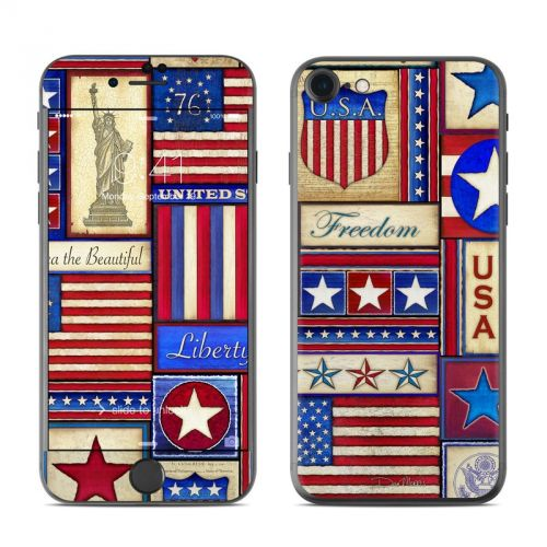 Flag Patchwork iPhone 7 Skin