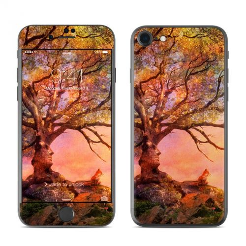 Fox Sunset iPhone 7 Skin
