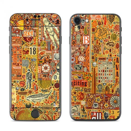 The Golding Time iPhone 7 Skin