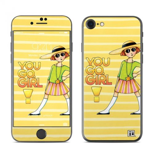 You Go Girl iPhone 7 Skin