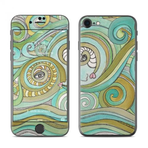 Honeydew Ocean iPhone 7 Skin