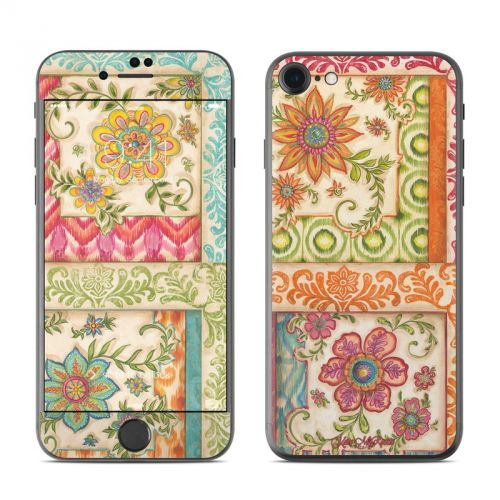 Ikat Floral iPhone 7 Skin