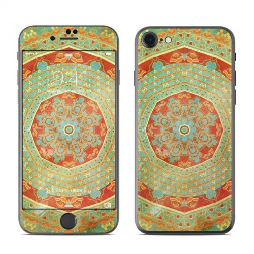 Mandala Citrus iPhone 7 Skin