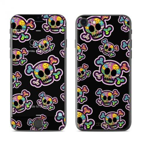 Peace Skulls iPhone 7 Skin