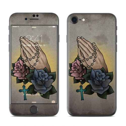 Pray For Us iPhone 7 Skin