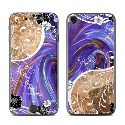 Purple Waves iPhone 7 Skin