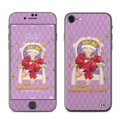 Queen Mother iPhone 7 Skin