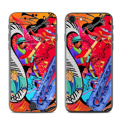 Red Hot Jazz iPhone 7 Skin