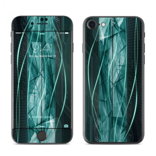 Shattered iPhone 7 Skin