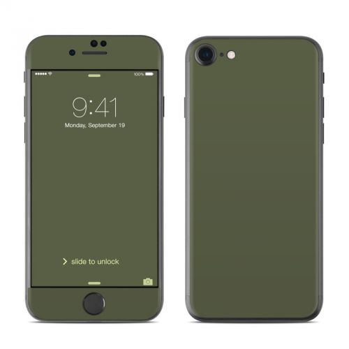 Solid State Olive Drab iPhone 7 Skin