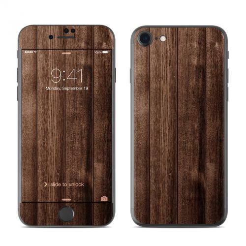 Stained Wood iPhone 7 Skin