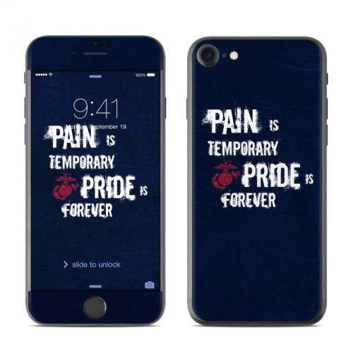 Pain is Temporary iPhone 7 Skin