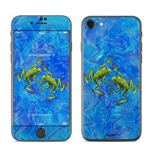 Tiger Frogs iPhone 7 Skin