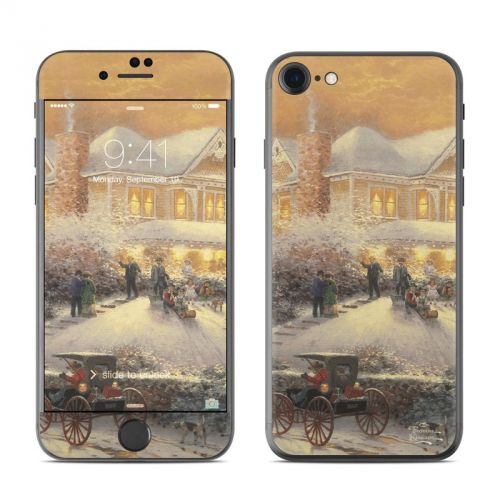 Victorian Christmas iPhone 7 Skin