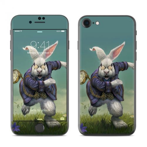White Rabbit iPhone 7 Skin