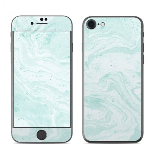 Winter Green Marble iPhone 7 Skin