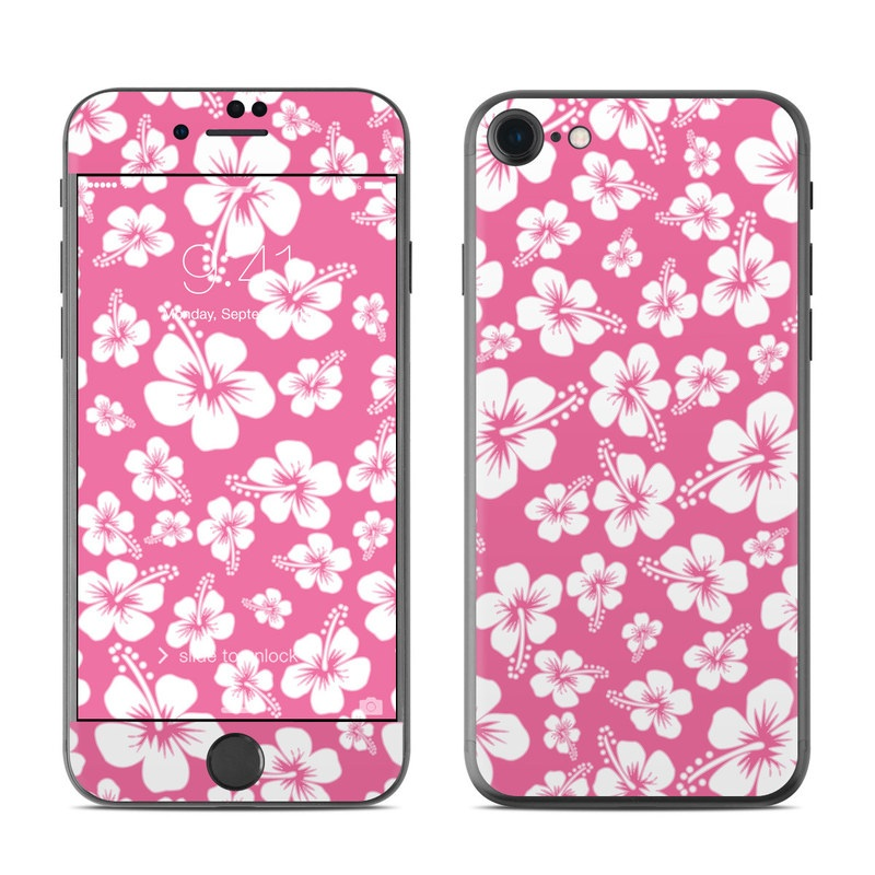 Aloha Pink iPhone 7 Skin