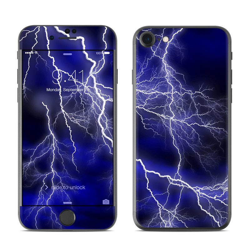 Apocalypse Blue iPhone 7 Skin