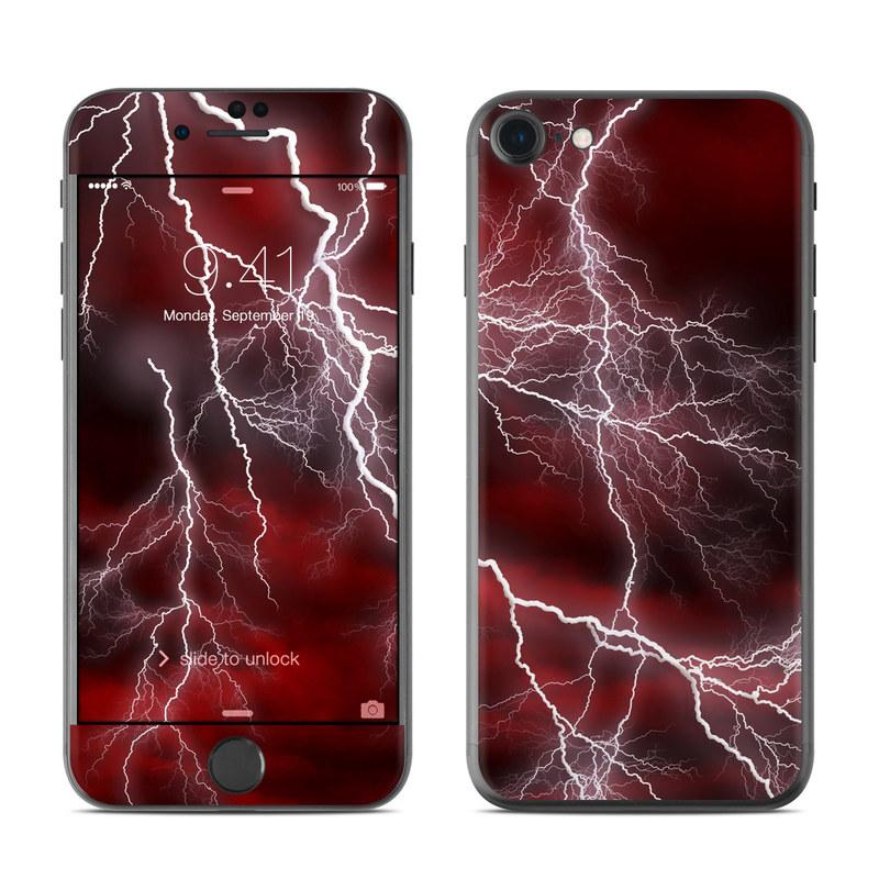 Apocalypse Red iPhone 7 Skin
