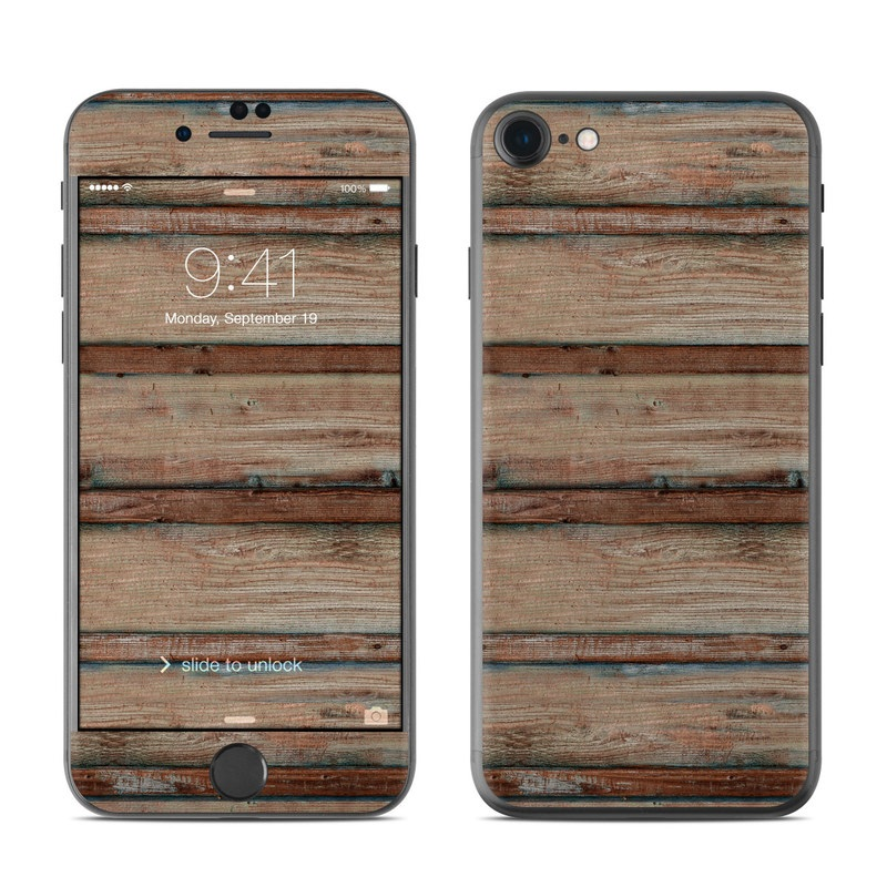 Boardwalk Wood iPhone 7 Skin