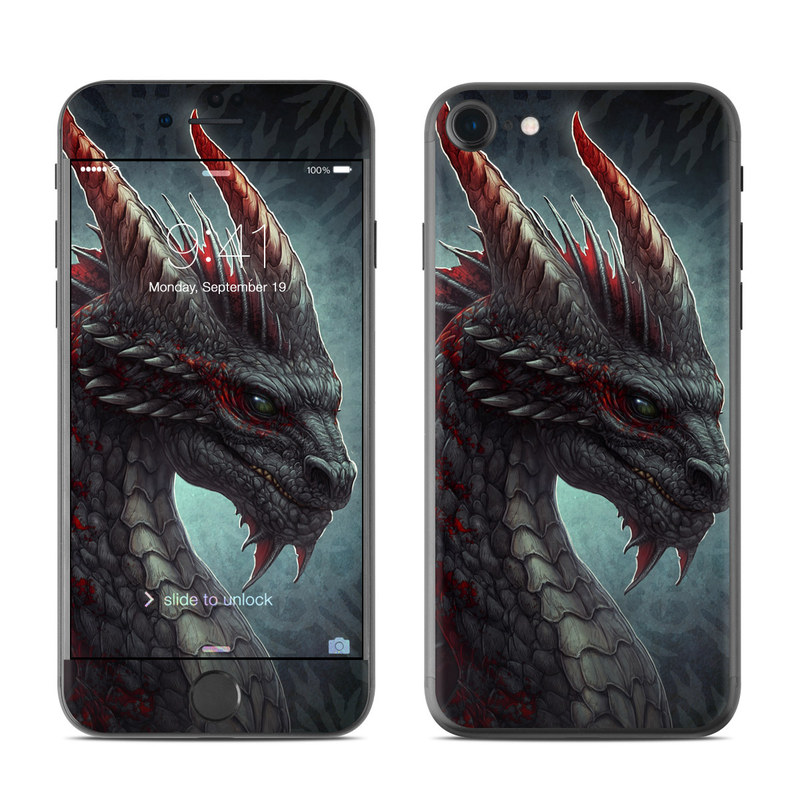 Black Dragon iPhone 7 Skin