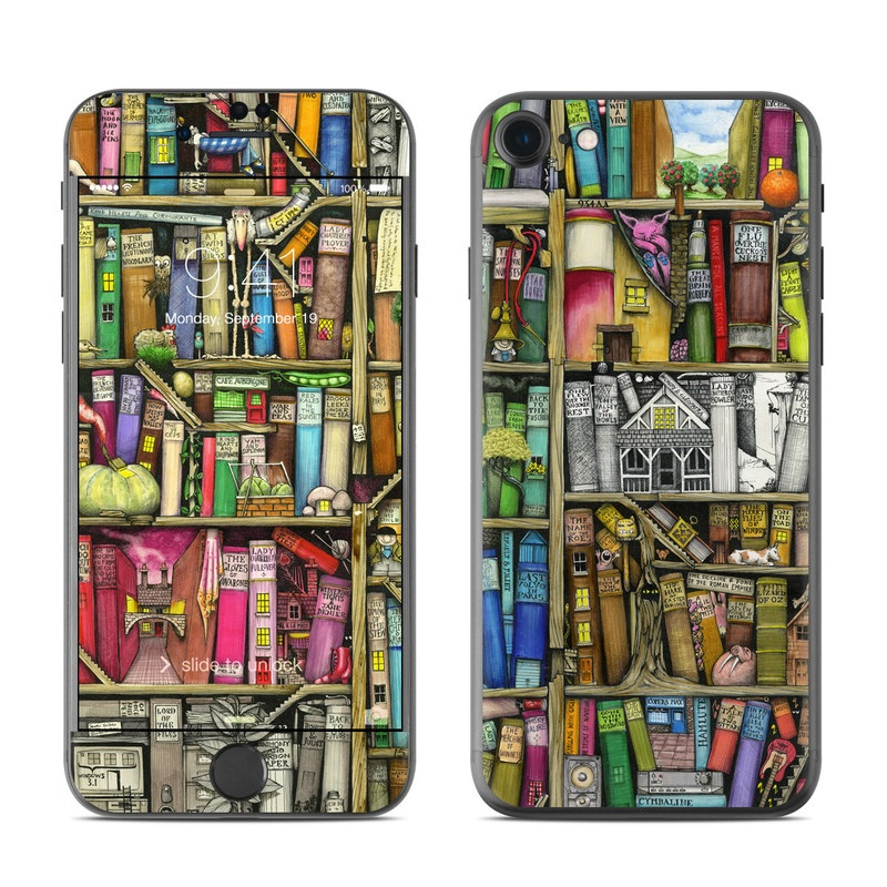 Bookshelf iPhone 7 Skin