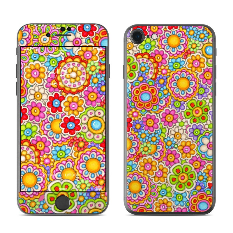 Bright Ditzy iPhone 7 Skin