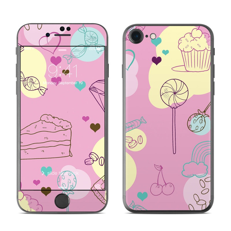Pink Candy iPhone 7 Skin