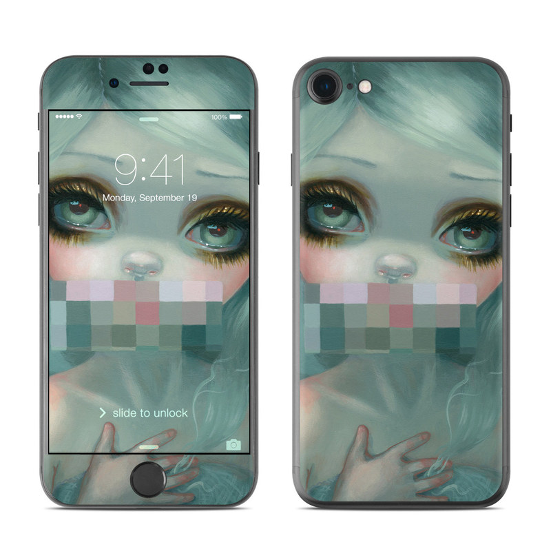 Censored Smile iPhone 7 Skin