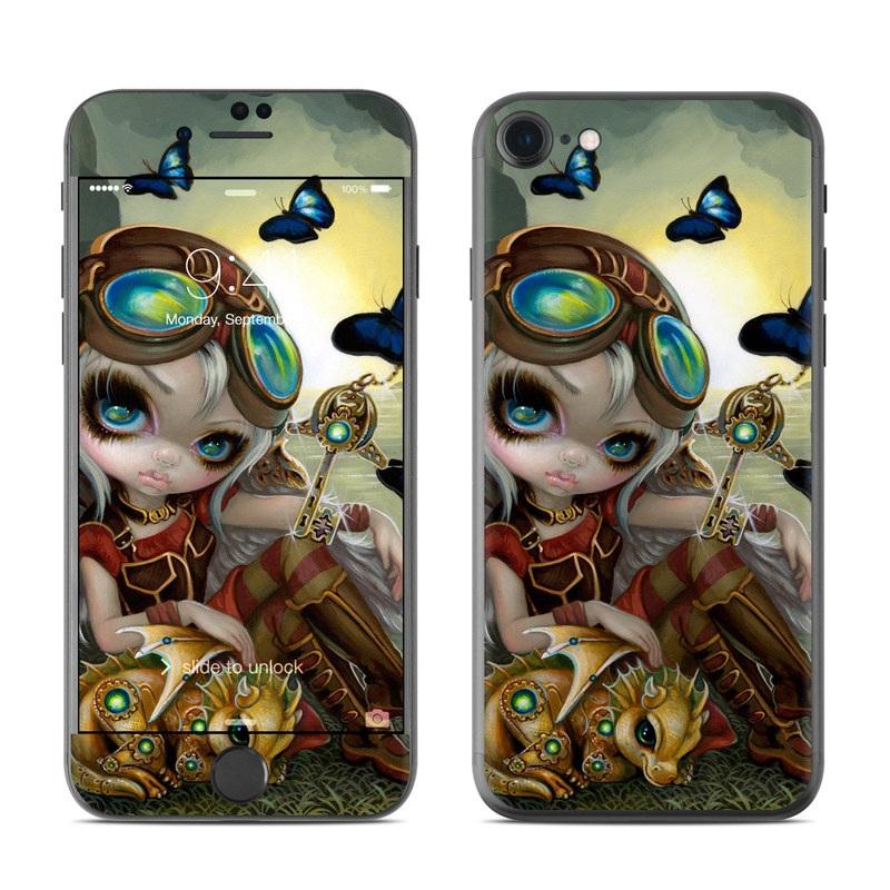 Clockwork Dragonling iPhone 7 Skin