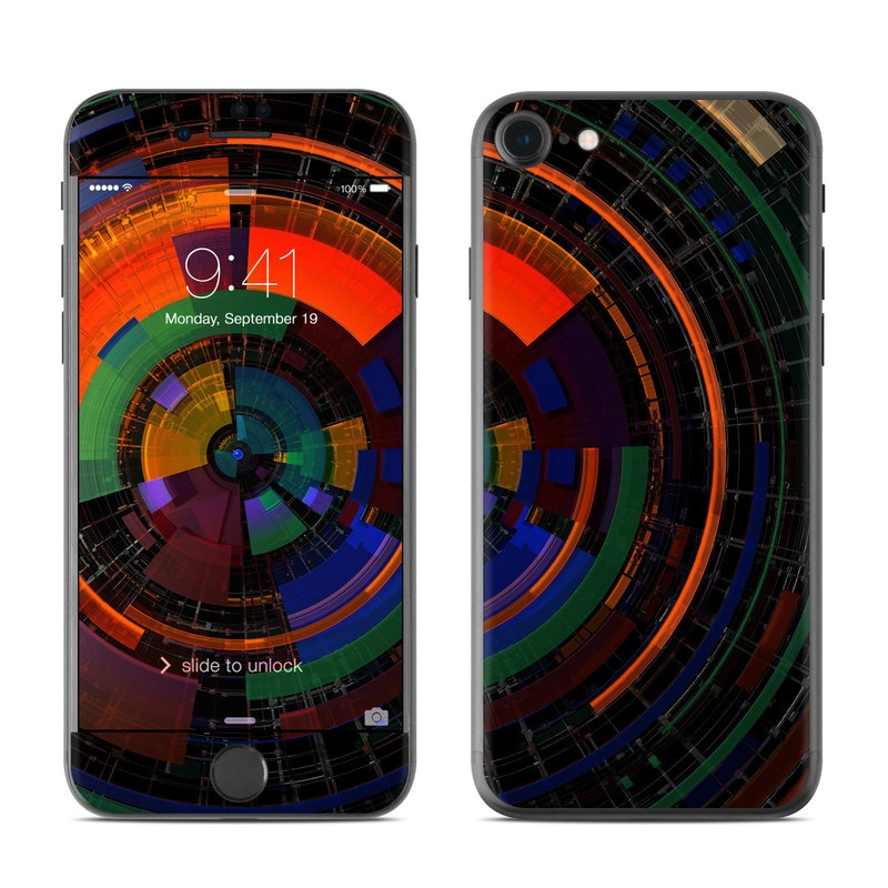 Color Wheel iPhone 7 Skin