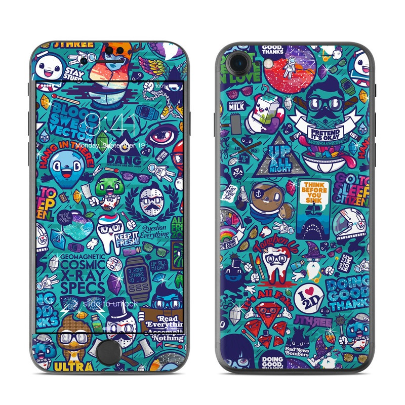 Cosmic Ray iPhone 7 Skin