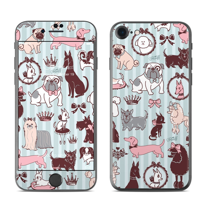 Doggy Boudoir iPhone 7 Skin