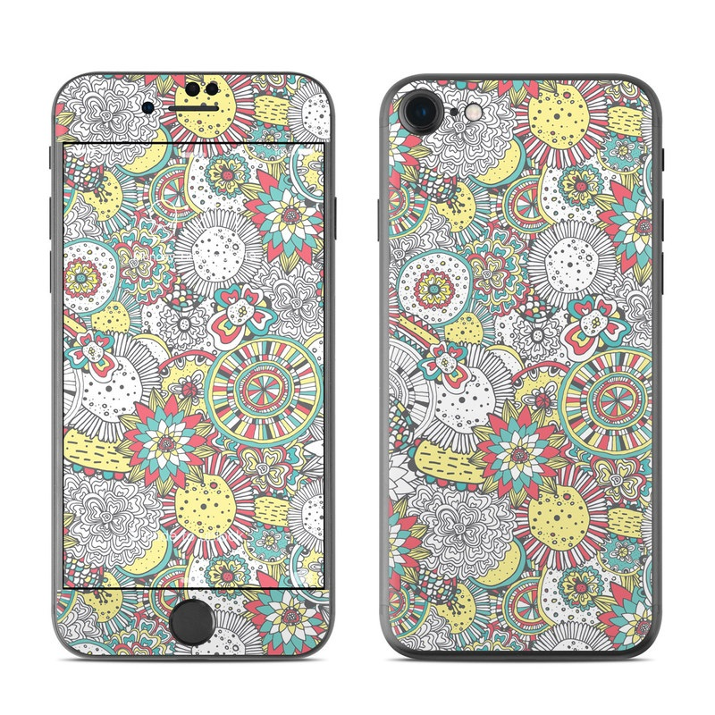 Faded Floral iPhone 7 Skin