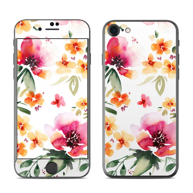 Fresh Flowers iPhone 7 Skin
