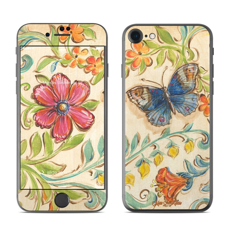 Garden Scroll iPhone 7 Skin