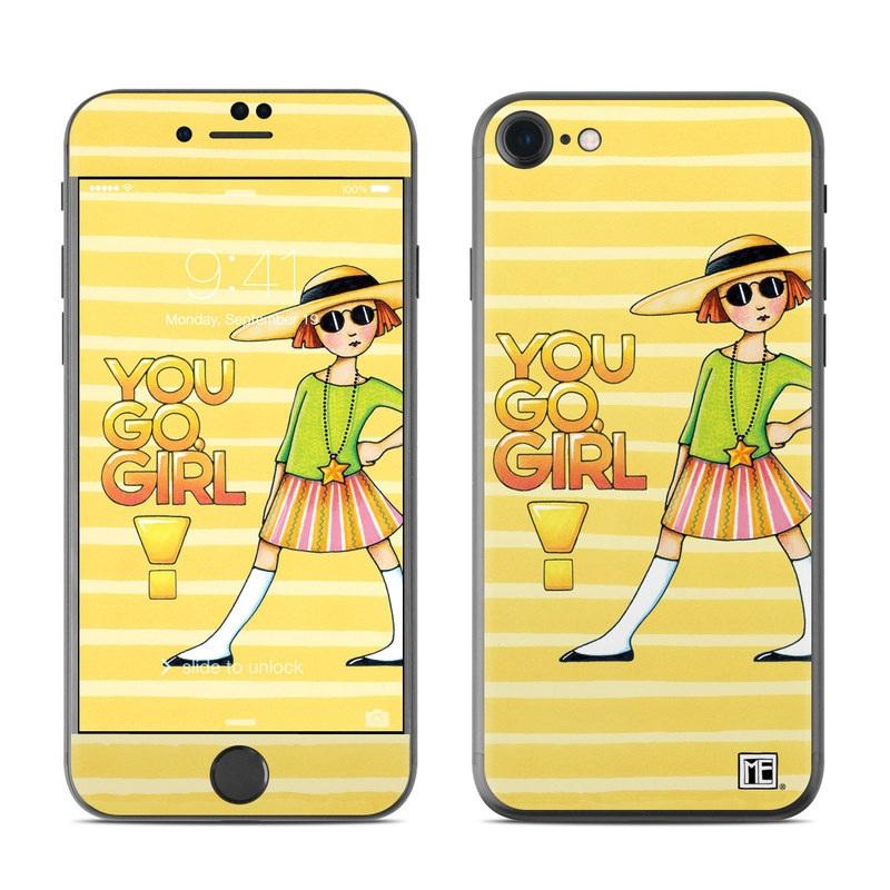 You Go Girl iPhone 7 Skin