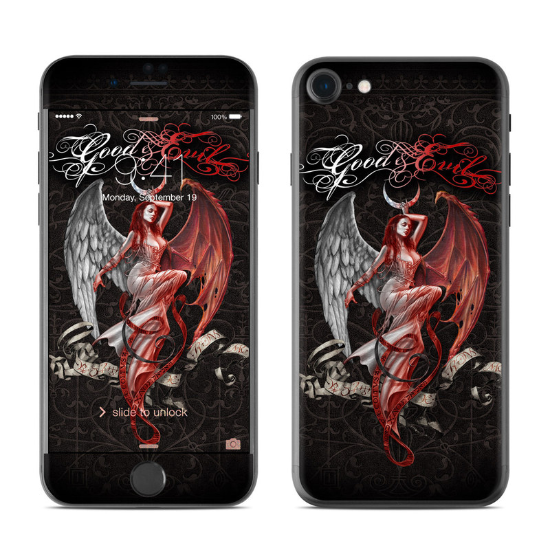 Good and Evil iPhone 7 Skin