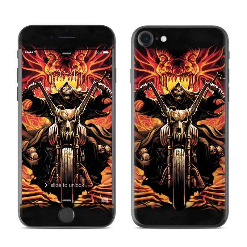 Grim Rider iPhone 7 Skin