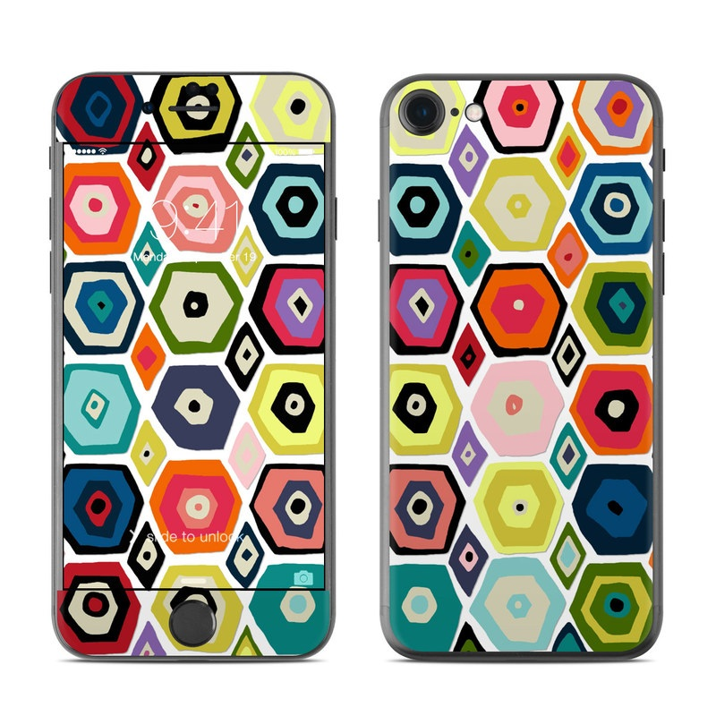 Hex Diamond iPhone 7 Skin