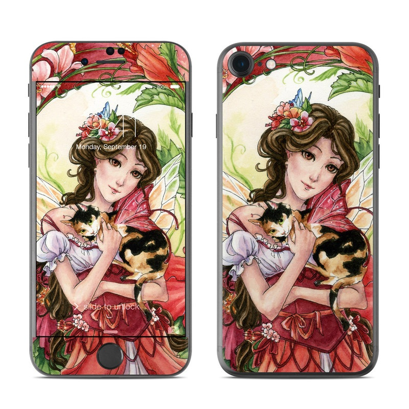 Hibiscus Fairy iPhone 7 Skin