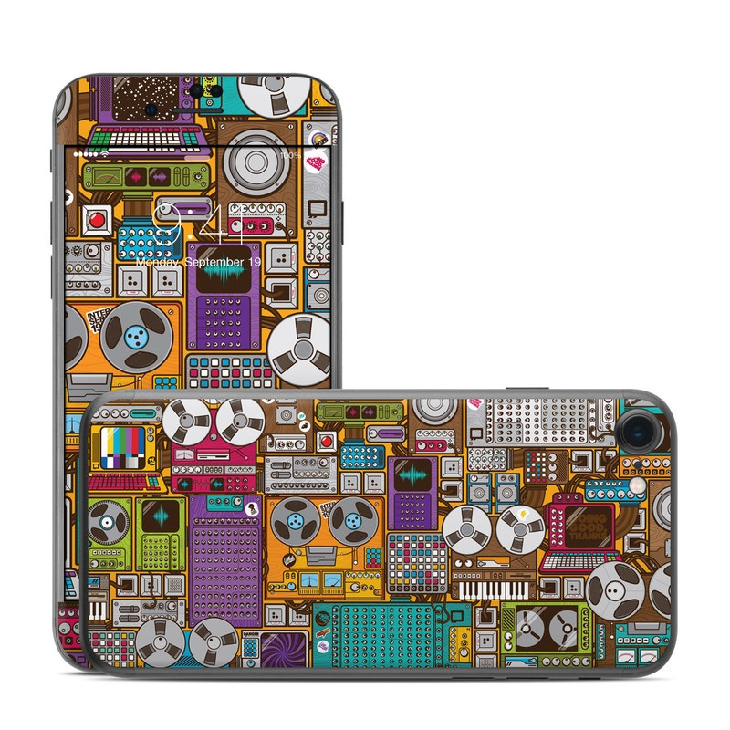iPhone 7 Skin design of Games, Pc game, Design, Pattern, Screenshot, Art with gray, black, red, green, blue, purple colors