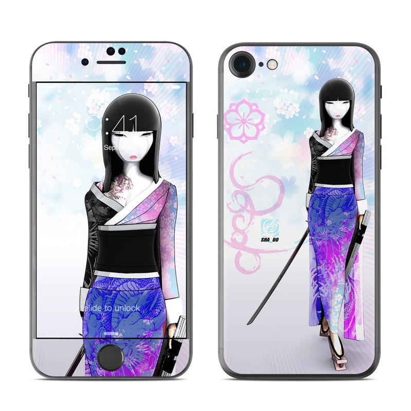 Kokeshi Haru iPhone 7 Skin
