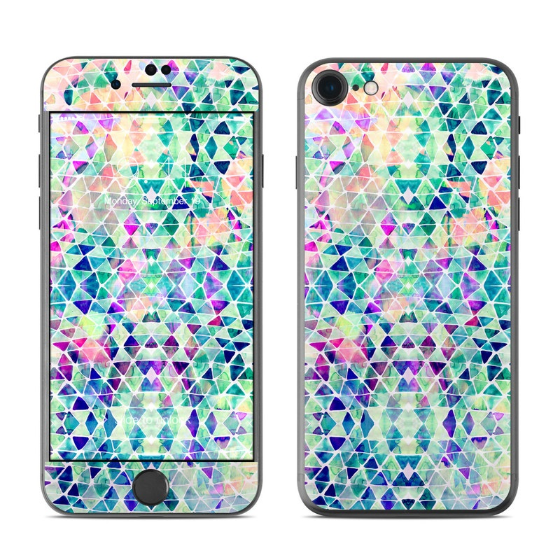 Pastel Triangle iPhone 7 Skin